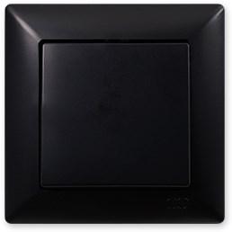 Vypínač č. 1 černá Visage Ambience