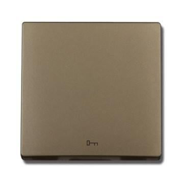 """Kryt (metalická béžová) + strojek pro tlačítko """"dveře"""" s piktogramem klíče  Visage Deluxe"""