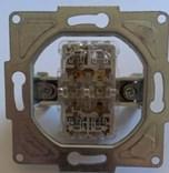 Kryt + strojek pro stmívač 600W/1000W s podsvícením metalická béžová Visage Deluxe