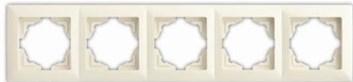 Rámek pětinásobný – VISAGE Ivory