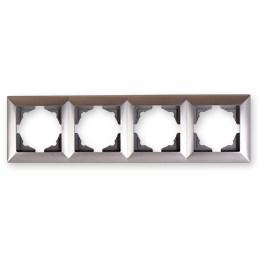 Čtyřrámek stříbrná Visage Ambience