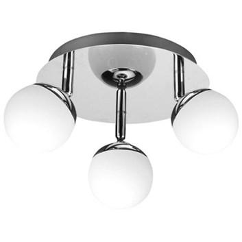 Svítidlo HL 7180L stropní dekorativní 3x4W 220-240V chróm