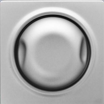 Kryt pro stmívač 600/1000W stříbrná Visage Deluxe