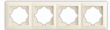 Rámek čtyřnásobný – VISAGE Ivory