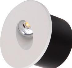 Svítidlo HL 958L venkovní do země 3W bílá/matný chrom