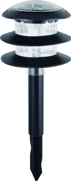 Solární svítidlo HL 0780030001 0,06W LED černá