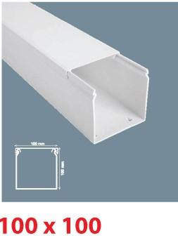 Instalační lišta PVC 100×100, délka 2 m