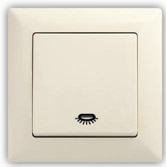 Tlačítko s piktogramem světla – VISAGE Ivory béžová