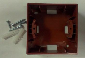 Montážní krabice – Amazon třešeň