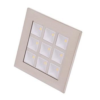 Svítidlo HL681L LED DOWNLIGHT 9X1W d.světlo 6400K 220-240V