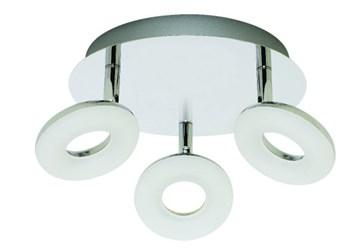 Svítidlo HL 7140L stropní dekorativní 3x5W 220-240V chróm