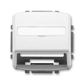 ABB Tango kryt zásuvky komunikační bílá