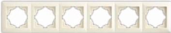 Rámek šestinásobný – VISAGE Ivory