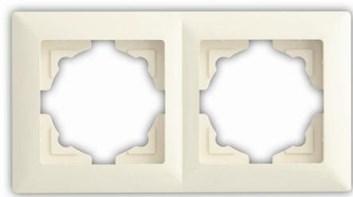 Rámek dvojnásobný – VISAGE Ivory