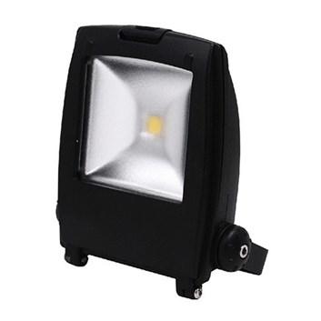 LED reflektor HL171L 10W 220-240V 6500K černá