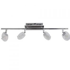 Svítidlo HL 7164L stropní dekorativní 4x5W G9 220-240V chróm