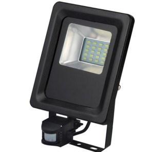 LED reflektor HL0680040010 10W 220-240V 6500K černá