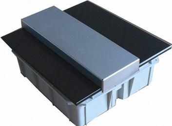 Rozvodná skříň DELUXE černá – 24 modulová