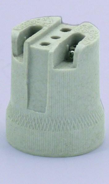 Objímka porcelánová HL 591 E27