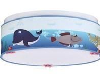 Dětský LED lustr Mořský svět