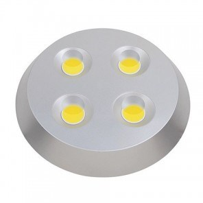 Svítidlo LED HL637L stropní dekorativní 4x8W 6400K stříbrná