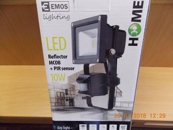 LED reflektor 10W/DL PIR Home