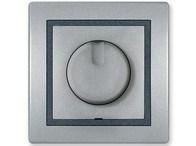 Stmívač s otočným spínačem 40-400VA 230V~/50Hz stříbrná