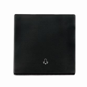 """Kryt (černá) + strojek pro tlačítko """"zvonek""""  Visage Deluxe"""