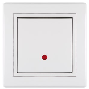 Vypínač jednopólový se signalizačním osv. 16A 250V~ bílý