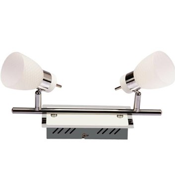 Svítidlo HL 7192L stropní dekorativní 2x4W 220-240V chróm