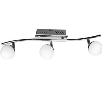 Svítidlo HL 7183L stropní dekorativní 3x4W 220-240V chróm