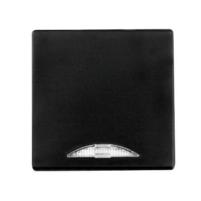 Černý kryt s podsvícením Visage de luxe