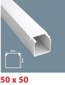Instalační lišta PVC 50×50, délka 2 m