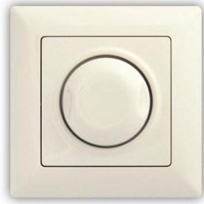 Stmívač 1000 W s podsvícením – VISAGE Ivory