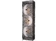 Černá ratanová lampa L54-29