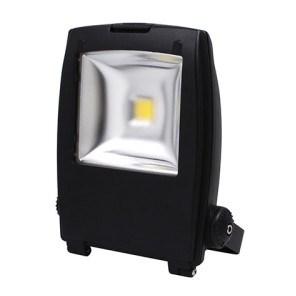 LED reflektor HL172L 30W 220-240V 6500K stříbrná
