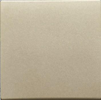Kryt (metalická béžová) + strojek pro vypínač č.1,6,7 Visage Deluxe