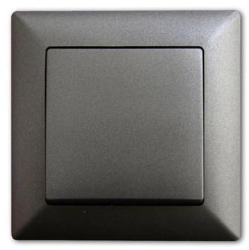 Schodišťový vypínač č. 6 tmavě šedá Visage Ambience