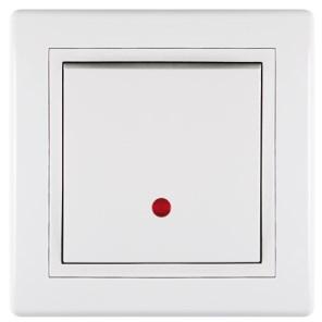 Vypínač jednopólový s orientačním osvětlením 16A 250V~bílý