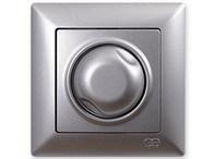 Stmívač 600 W Visage Ambience stříbrná