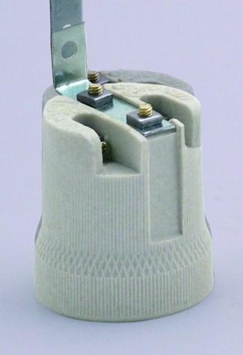 Objímka porcelánová HL 592 E27