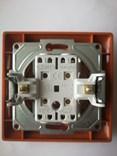 Dvojitý střídavý vypínač č. 5B – Amazon javor