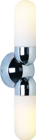 Svítidlo HL 882 2x40W E14 chróm
