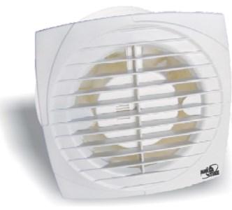 Koupelnový ventilátor MTG A-100 hydro, časovač, zp.klapka 12261