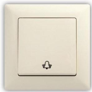 Zvonkové tlačítko -  VISAGE Ivory béžová
