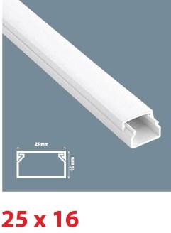 Instalační lišta PVC 25×16, délka 2 m