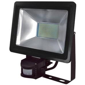 LED reflektor HL0680040100 100W 220-240V 6500K černá