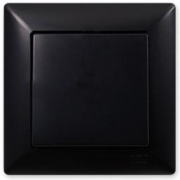 Schodišťový vypínač č. 6 černá Visage Ambience