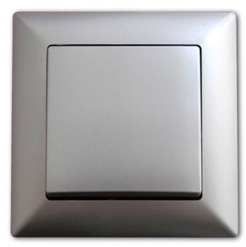 Křížový vypínač č. 7 stříbrná Visage Ambience