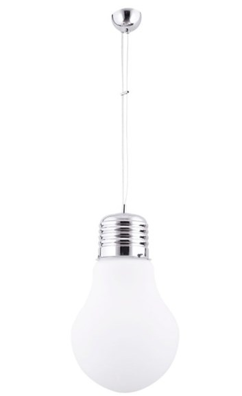 """Lustr """"žárovka"""" PRIMO 311 bílá"""